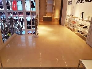 Microlevigatura pavimento in marmo